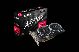 MSI Radeon RX 580 GDDR5 8GB OC Gaming Graphics Card