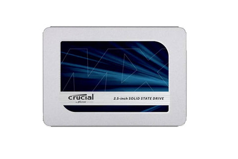 Crucial MX500 500GB 3D NAND SATA 2.5 Inch Internal SSD