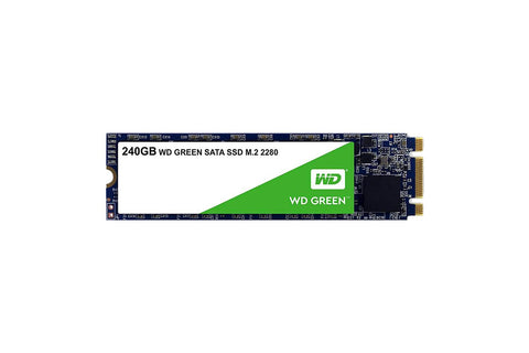 WD SSD 240GB Green Retail M.2 (WDS240G2G0B)