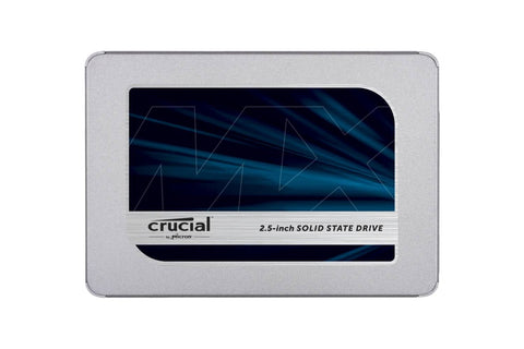 "Crucial MX500 250GB 3D NAND SATA 2.5"" 7mm (with 9.5mm adapter) Internal SSD-computerspace"