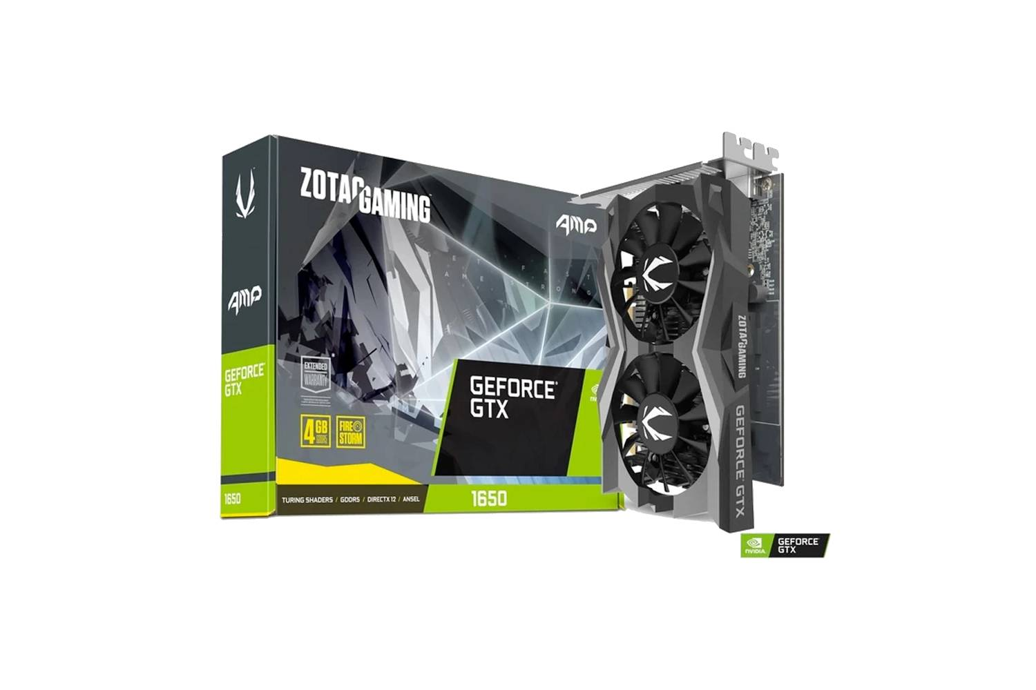 ZOTAC GeForce GTX 1650 AMP Edition 4GB GDDR5 Graphics Card-computerspace