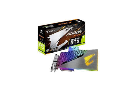 AORUS GeForce RTX™ 2080 Ti XTREME WATERFORCE WB 11G Graphics Card