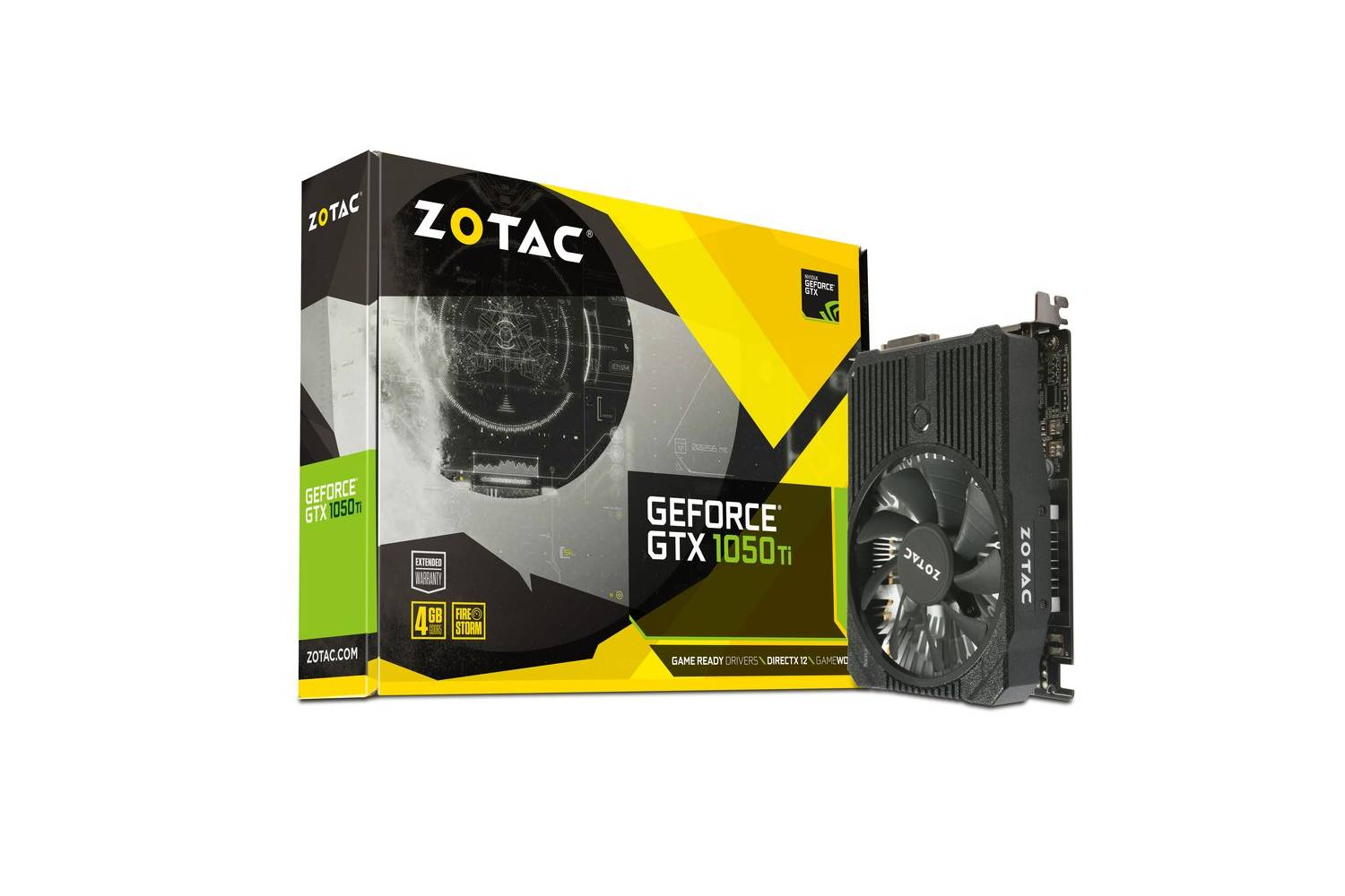 ZOTAC GeForce GTX 1050 ti mini Graphics Card