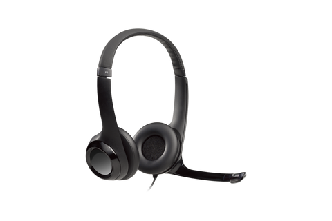 Logitech H390 USB COMPUTER HEADSET With enhanced digital audio and in-line controls-computerspace