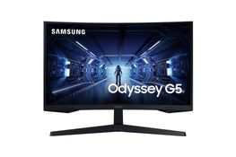 "Samsung G5 Series C27G55T 27"" 1000R Curved Gaming Monitor with WQHD resolution."