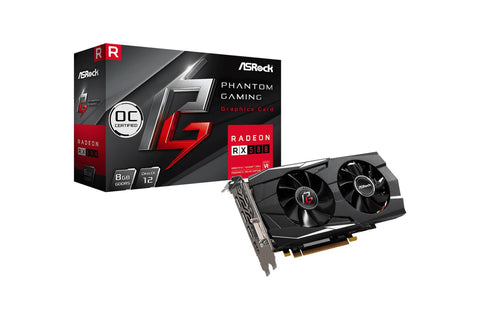 Asrock Phantom Gaming D Radeon RX580 8G OC Graphics Card-computerspace
