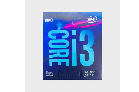 Intel Core i3 9100F 9th Generation Desktop Processor