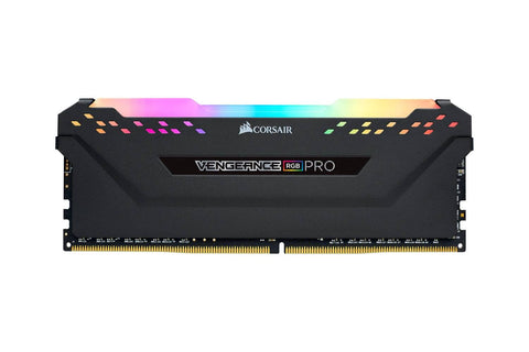 Corsair VENGEANCE RGB PRO 8GB (1 x 8GB) DDR4 DRAM 3000MHz C16 Memory Kit — Black