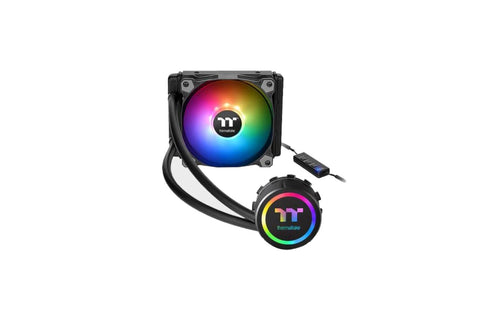 THERMALTAKE WATER 3.0 120 ARGB ALL-IN-ONE 120MM CPU LIQUID COOLER-computerspace