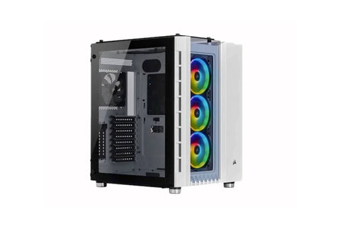 CORSAIR Crystal Series 680X RGB ATX High Airflow Tempered Glass Smart Case White Cabinet