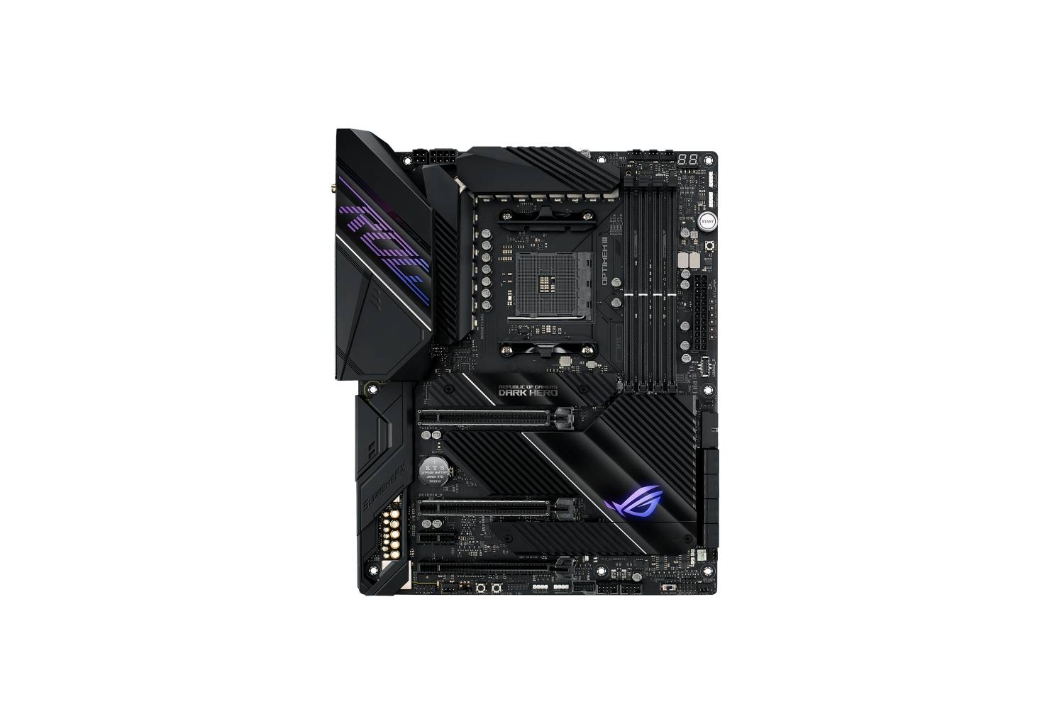 Asus ROG Crosshair VIII Dark Hero AMD X570 Motherboard-computerspace