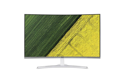 Acer 31.5-inch (80.01 cm) Curved Full HD LED Backlit Computer Monitor with Stereo Speakers - ED322Q (White)-computerspace