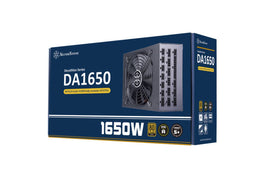 SilverStone DA1650 Gold 80 PLUS Gold 1650W fully modular ATX power supply-computerspace