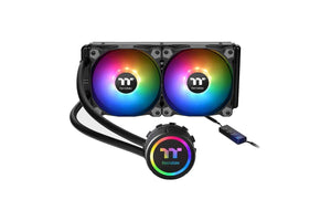 THERMALTAKE WATER 3.0 240 ARGB SYNC ALL IN ONE 240MM CPU LIQUID COOLER-computerspace