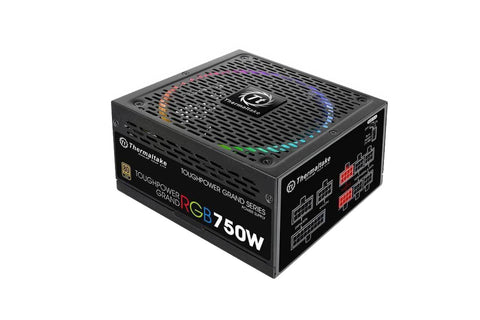 Thermaltake Toughpower Grand RGB 750W Gold (RGB Sync Edition) Power Supply-computerspace