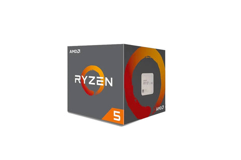 AMD CORES 6 THREADS 12 PROCESSOR RYZEN-5-2600 CPU