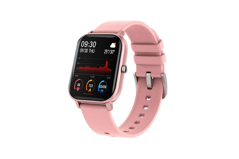 Fire-Boltt Full Touch Smart Watch 1'4 inch HD - Pink