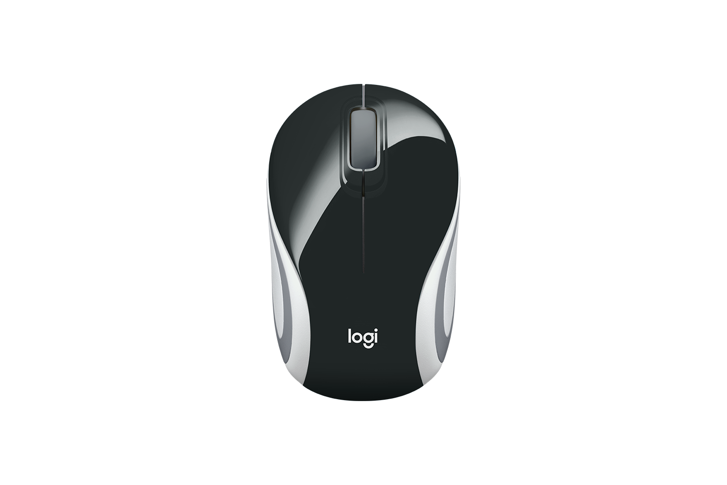 Logitech M187 Mini Wireless Mouse Black-computerspace