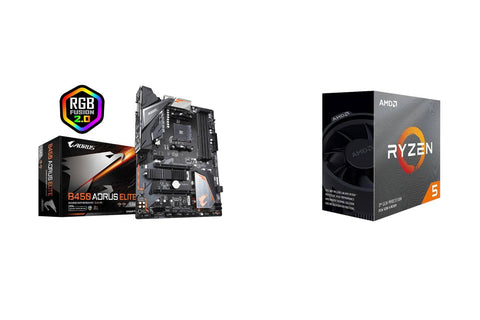 AMD Ryzen 5 3600 and Gigabyte B450 AORUS Elite Combo-computerspace