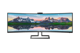 PHILIPS Brilliance 499P9H1/75 49-inch Curved SuperWide Dual QHD LCD Display-computerspace