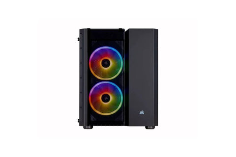 CORSAIR Crystal Series 280X RGB Micro ATX Case Black Cabinet