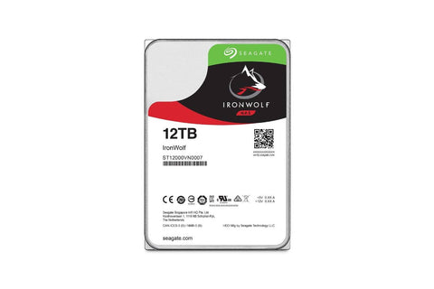 Seagate 12TB 7200 RPM, 256 MB Cache Ironwolf Desktop 3.5 Inch Internal HDD