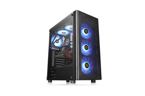 Custom PC with AMD 4650G processor Thermaltake V200 TG cabinet