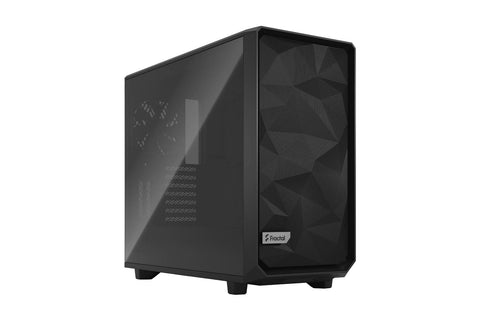 Fractal Meshify 2 Clear Tempered Glass Case Black-computerspace