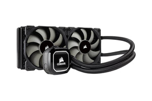 Corsair Hydro Series H100X 240mm Radiator 120mm High Performance Liquid CPU Cooler