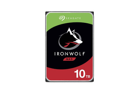 Seagate 10TB IronWolf NAS SATA 6Gb/s NCQ 256MB Cache 3.5-Inch Internal HDD
