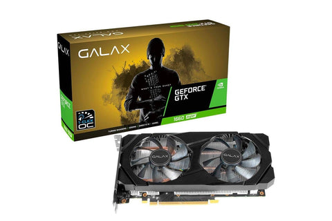 Galax GeForce GTX 1660 Super (1-Click OC) Graphics Card