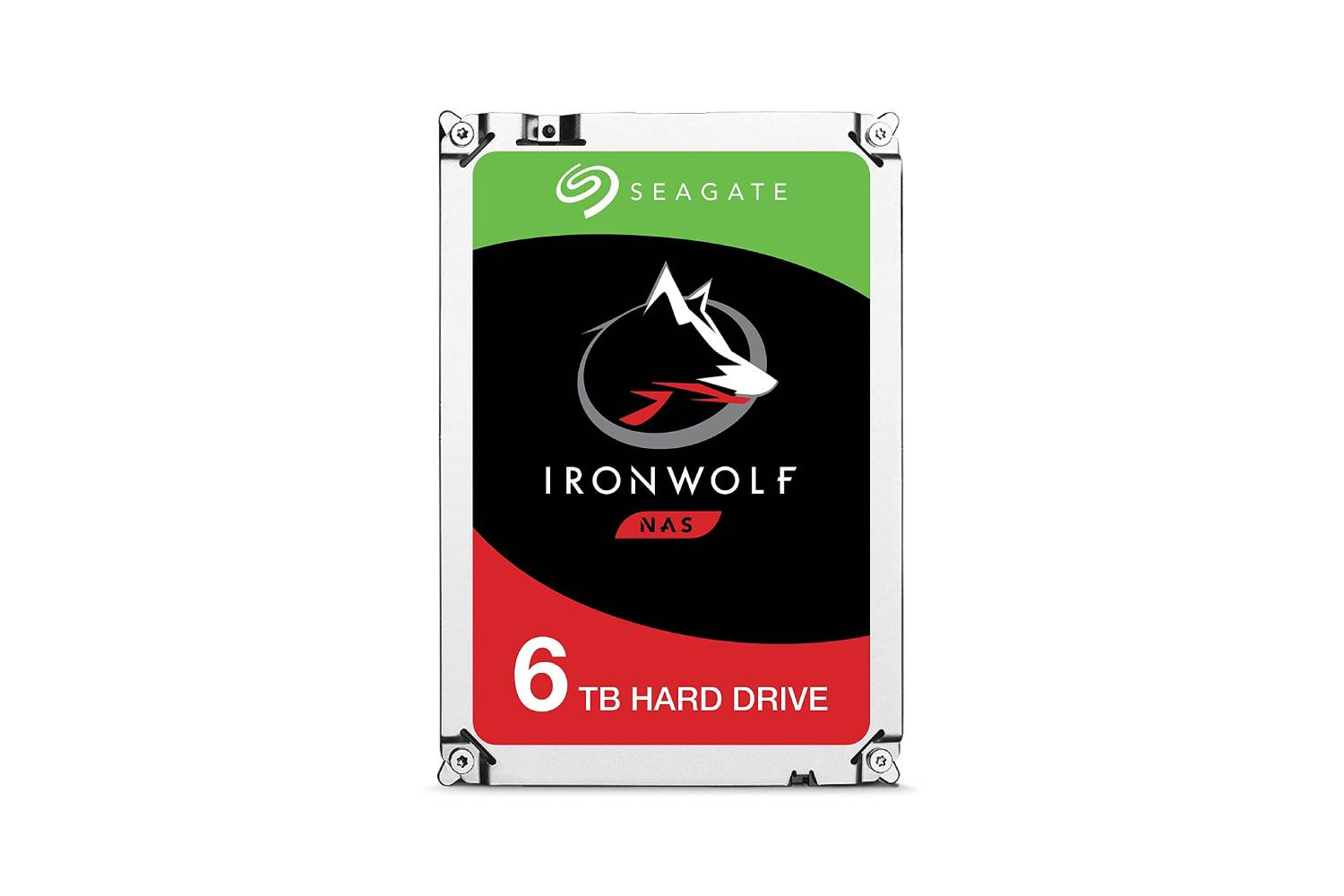 Seagate IronWolf NAS 6TB 6Gb/s 3.5-Inch 7200RPM Internal SATA HDD