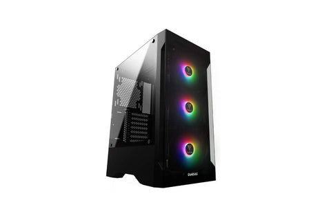 Gamdias TALOS E2 Mid Tower PC case with built-in three 120mm ARGB fans