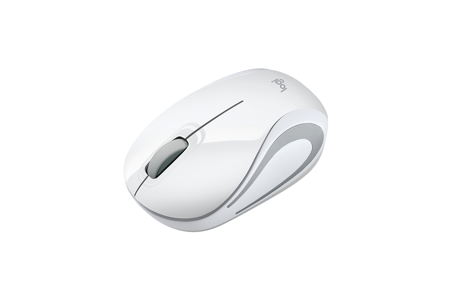 Logitech M187 Mini Wireless Mouse White