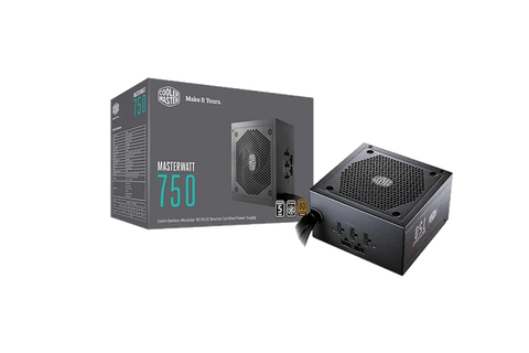 Cooler Master MW Semi-Modular 750W A/UK Cable Power Supply-computerspace