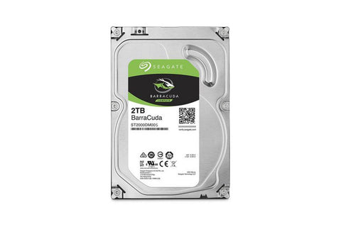 Seagate Barracuda 2TB HDD 5200 RPM
