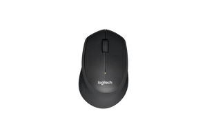 Logitech M331 Silent Plus Mouse Black