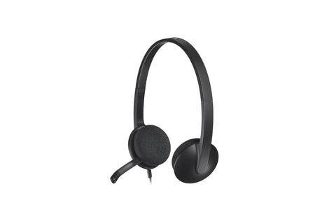 LOGITECH H340 USB Computer Headset-computerspace