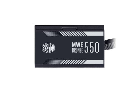Cooler Master MWE Bronze V2 550W 80 Plus Bronze Certified Power Supply-computerspace