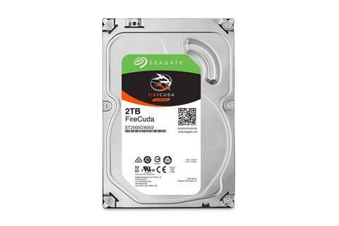 Seagate 2TB Firecuda ST2000DX002 Internal Hybrid Solid State Drive