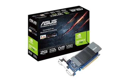 ASUS GeForce GT 710 2GB DDR3 low profile graphics card