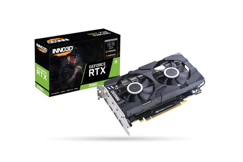 INNO3D Geforce RTX 2060 Twin X2 Graphics Card