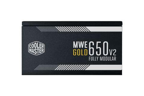 Cooler Master MWE Gold V2 FM 650W A/UK Cable) Power Supply-computerspace