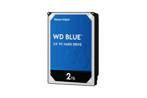 WD 2TB Internal Hard Drive Blue (WD20EZAZ) 256Mb Cache-computerspace