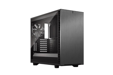 Fractal Define 7 Light Tempered Glass Grey Cabinet-computerspace