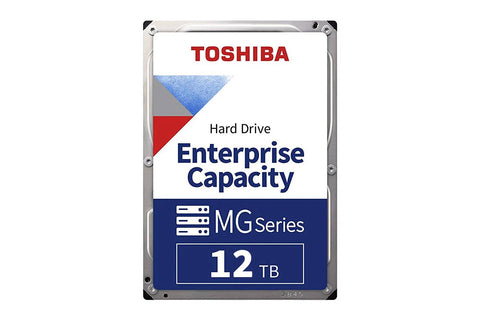 "Toshiba 12TB SATA 512e 3.5"" 7200RPM Enterprise HDD MG07ACA12TE"