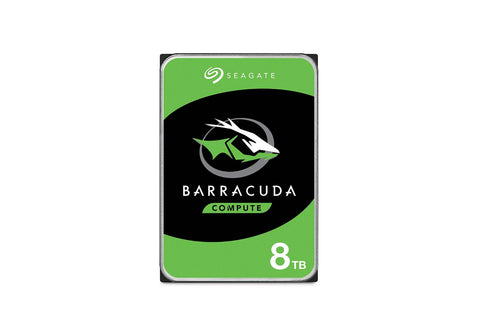 Seagate 8TB Barracuda SATA 6Gb/s 256MB Cache 3.5-Inch Internal HDD