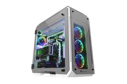 Thermaltake View 71 Tempered Glass RGB Edition Cabinet Snow
