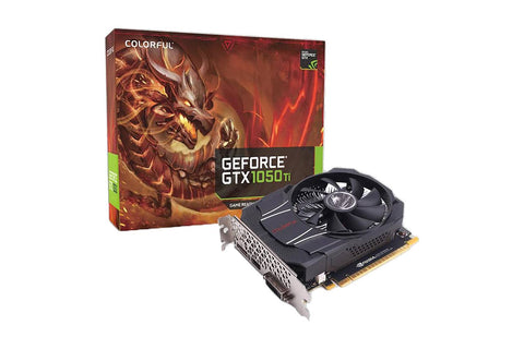 Colorful GeForce GTX1050Ti Mini OC 4G Graphics Card