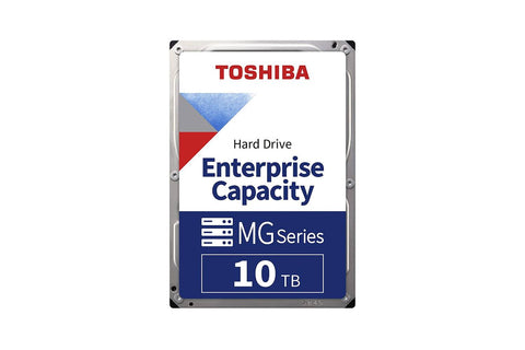 "Toshiba 10TB SATA 512e 7200RPM 3.5"" Enterprise HDD MG06ACA10TE-computerspace"